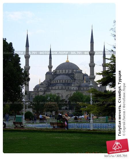 Купить «Голубая мечеть. Стамбул. Турция», фото № 305791, снято 5 мая 2008 г. (c) Сергей Лисов / Фотобанк Лори