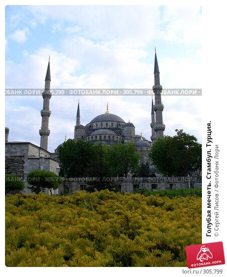 Голубая мечеть. Стамбул. Турция., фото № 305799, снято 5 мая 2008 г. (c) Сергей Лисов / Фотобанк Лори