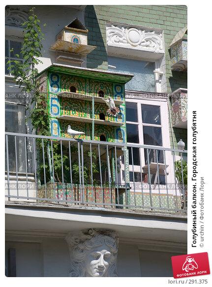 Голубиный балкон. Городская голубятня, фото № 291375, снято 3 мая 2008 г. (c) urchin / Фотобанк Лори
