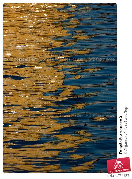 Голубой и золотой, фото № 71687, снято 12 октября 2006 г. (c) Argument / Фотобанк Лори