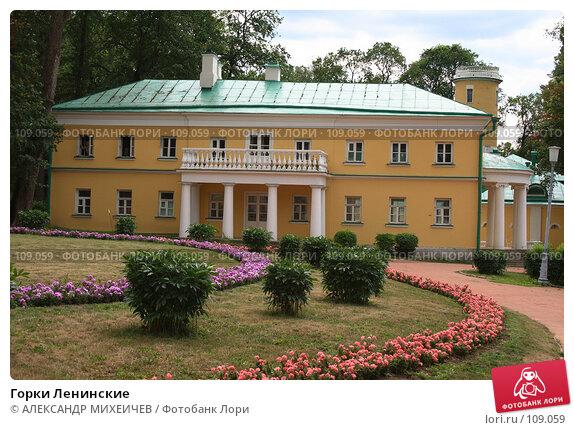 Горки Ленинские, фото № 109059, снято 21 июля 2007 г. (c) АЛЕКСАНДР МИХЕИЧЕВ / Фотобанк Лори