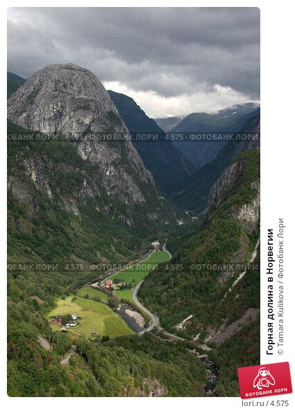 Горная долина в Норвегии, фото № 4575, снято 23 августа 2005 г. (c) Tamara Kulikova / Фотобанк Лори