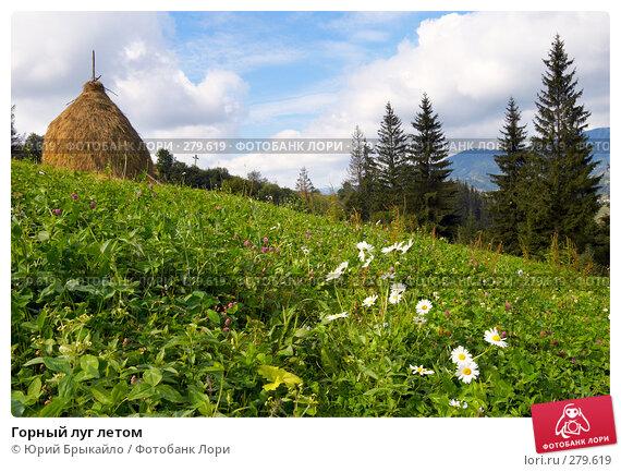 Горный луг летом, фото № 279619, снято 2 сентября 2007 г. (c) Юрий Брыкайло / Фотобанк Лори