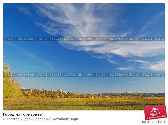 Купить «Город на горизонте», фото № 111211, снято 20 октября 2007 г. (c) Арестов Андрей Павлович / Фотобанк Лори