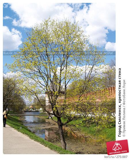 Город Смоленск, крепостная стена, фото № 273007, снято 26 апреля 2008 г. (c) Примак Полина / Фотобанк Лори