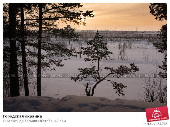 Купить «Городская окраина», фото № 185763, снято 19 января 2008 г. (c) Александр Ерёмин / Фотобанк Лори