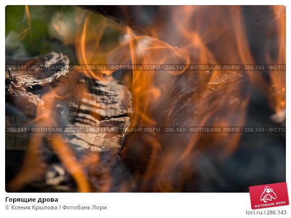 Горящие дрова, фото № 286143, снято 3 мая 2008 г. (c) Ксения Крылова / Фотобанк Лори