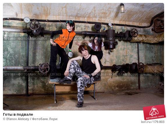 Готы в подвале, фото № 179803, снято 7 декабря 2007 г. (c) Efanov Aleksey / Фотобанк Лори