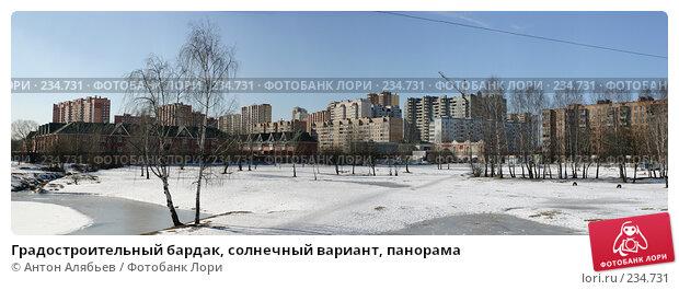 Градостроительный бардак, солнечный вариант, панорама, фото № 234731, снято 21 января 2017 г. (c) Антон Алябьев / Фотобанк Лори