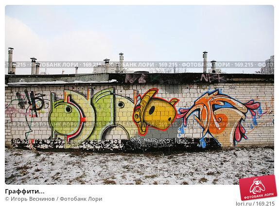 Граффити..., фото № 169215, снято 3 января 2008 г. (c) Игорь Веснинов / Фотобанк Лори