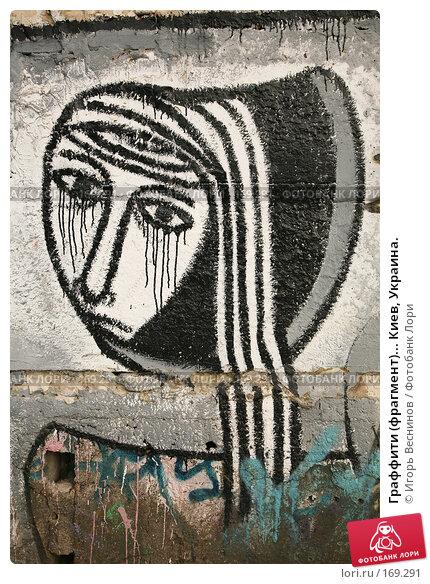 Граффити (фрагмент)... Киев, Украина., фото № 169291, снято 3 января 2008 г. (c) Игорь Веснинов / Фотобанк Лори