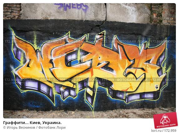 Граффити... Киев, Украина., фото № 172959, снято 3 января 2008 г. (c) Игорь Веснинов / Фотобанк Лори