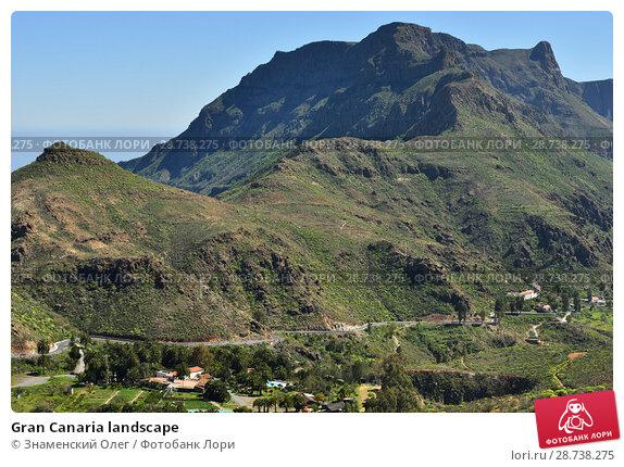 Купить «Gran Canaria landscape», фото № 28738275, снято 27 февраля 2014 г. (c) Знаменский Олег / Фотобанк Лори