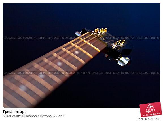 Гриф гитары, фото № 313235, снято 15 мая 2008 г. (c) Константин Тавров / Фотобанк Лори