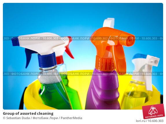 Group of assorted cleaning . Стоковое фото, фотограф Sebastian Duda / PantherMedia / Фотобанк Лори