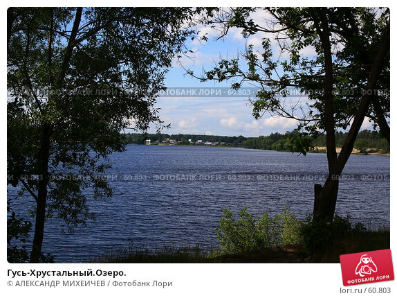 Гусь-Хрустальный.Озеро., фото № 60803, снято 10 июня 2007 г. (c) АЛЕКСАНДР МИХЕИЧЕВ / Фотобанк Лори
