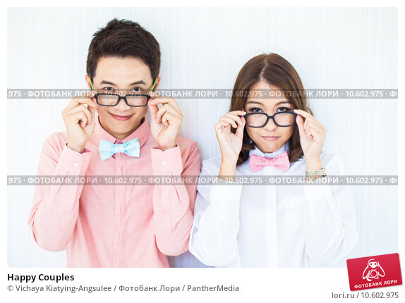 Happy Couples. Стоковое фото, фотограф Vichaya Kiatying-Angsulee / PantherMedia / Фотобанк Лори