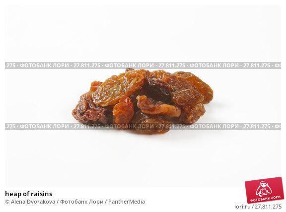 Купить «heap of raisins», фото № 27811275, снято 20 октября 2018 г. (c) PantherMedia / Фотобанк Лори