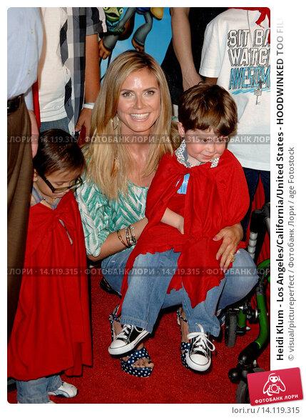 Купить «Heidi Klum - Los Angeles/California/United States - HOODWINKED TOO FILM PREMIERE», фото № 14119315, снято 16 апреля 2011 г. (c) age Fotostock / Фотобанк Лори