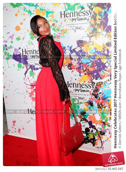 Hennessy Celebrates 2017 Hennessy Very Special Limited Edition bottle... Редакционное фото, фотограф Derrick Salters / WENN.com / age Fotostock / Фотобанк Лори