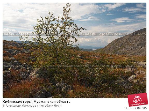 Купить «Хибинские горы, Мурманская область», фото № 108315, снято 22 августа 2006 г. (c) Александр Максимов / Фотобанк Лори