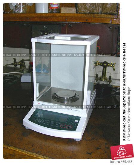 Химическая лаборатория: аналитические весы, фото № 65463, снято 26 июля 2007 г. (c) Татьяна Юни / Фотобанк Лори
