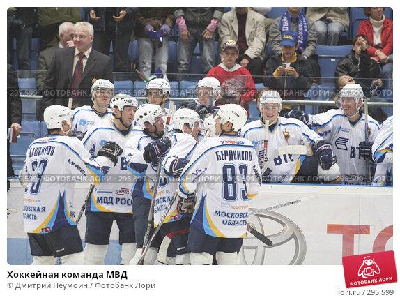Купить «Хоккейная команда МВД», эксклюзивное фото № 295599, снято 9 сентября 2007 г. (c) Дмитрий Неумоин / Фотобанк Лори