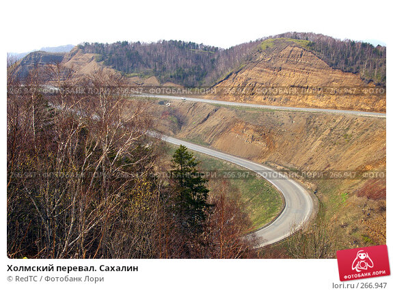 Холмский перевал. Сахалин, фото № 266947, снято 29 апреля 2008 г. (c) RedTC / Фотобанк Лори