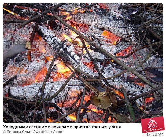 Холодными осенними вечерами приятно греться у огня, фото № 8079, снято 14 ноября 2005 г. (c) Петрова Ольга / Фотобанк Лори