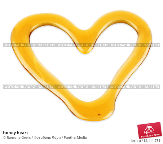 Купить «honey heart», фото № 12111731, снято 30 января 2019 г. (c) PantherMedia / Фотобанк Лори