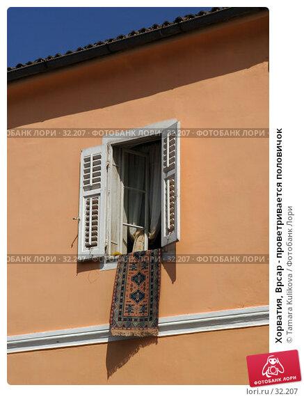 Хорватия, Врсар - проветривается половичок, фото № 32207, снято 7 апреля 2007 г. (c) Tamara Kulikova / Фотобанк Лори