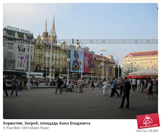 Хорватия, Загреб, площадь бана Еладжича, фото № 10047, снято 9 июля 2006 г. (c) Paul Bee / Фотобанк Лори