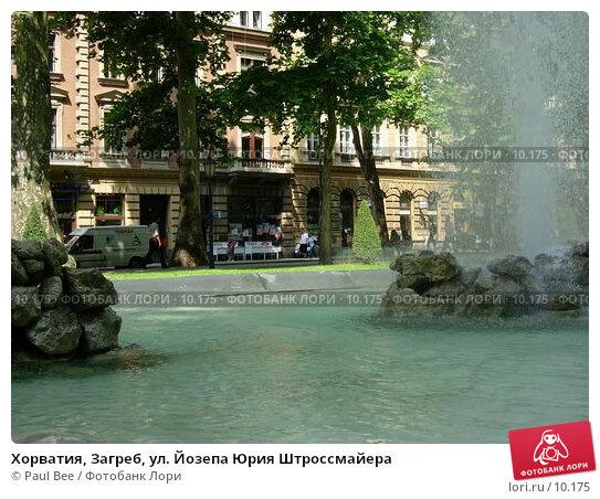 Хорватия, Загреб, ул. Йозепа Юрия Штроссмайера, фото № 10175, снято 10 июля 2006 г. (c) Paul Bee / Фотобанк Лори