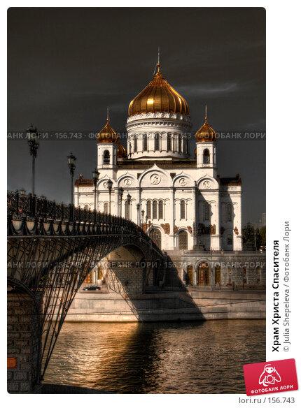 Храм Христа Спасителя, фото № 156743, снято 8 декабря 2016 г. (c) Julia Shepeleva / Фотобанк Лори