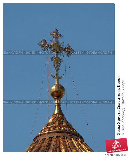 Храм Христа Спасителя. Крест, фото № 307831, снято 22 июля 2006 г. (c) Тарановский Д. / Фотобанк Лори