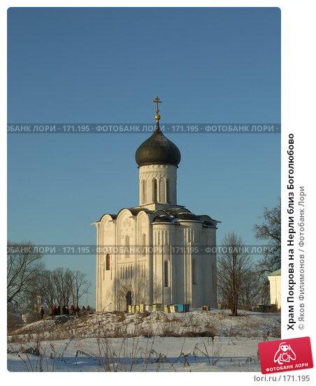 Храм Покрова на Нерли близ Боголюбово, фото № 171195, снято 3 января 2008 г. (c) Яков Филимонов / Фотобанк Лори