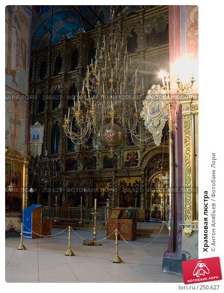Купить «Храмовая люстра», фото № 250627, снято 6 февраля 2008 г. (c) Антон Алябьев / Фотобанк Лори