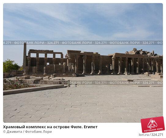 Храмовый комплекс на острове Филе. Египет, фото № 324271, снято 9 января 2008 г. (c) Дживита / Фотобанк Лори