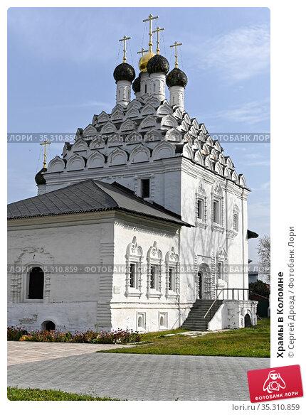 Храмы в Коломне. Редакционное фото, фотограф Сергей Дрозд / Фотобанк Лори