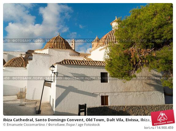 Купить «Ibiza Cathedral, Santo Domingo Convent, Old Town, Dalt Vila, Eivissa, Ibiza, Balearic Islands, Spain, Mediterranean, Europe.», фото № 14900459, снято 19 июня 2018 г. (c) age Fotostock / Фотобанк Лори