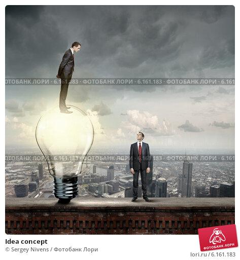 Купить «Idea concept», фото № 6161183, снято 24 февраля 2011 г. (c) Sergey Nivens / Фотобанк Лори
