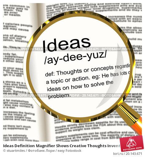 Definition Ideas