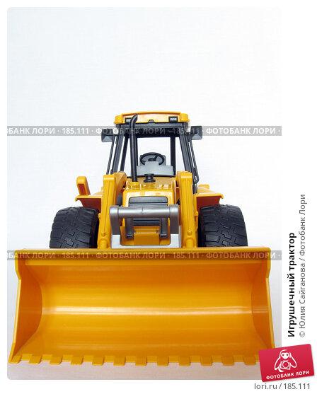 Игрушечный трактор, фото № 185111, снято 24 января 2008 г. (c) Юлия Сайганова / Фотобанк Лори