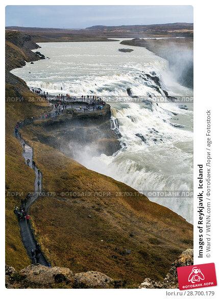 Купить «Images of Reykjavik, Iceland Featuring: Gulfoss Waterfall, Iceland Where: Reykyavik, Iceland When: 24 Oct 2016 Credit: Ward/WENN.com», фото № 28700179, снято 24 октября 2016 г. (c) age Fotostock / Фотобанк Лори