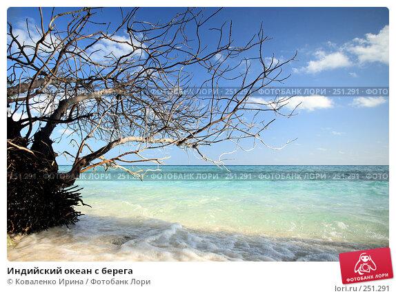Индийский океан с берега, фото № 251291, снято 4 февраля 2008 г. (c) Коваленко Ирина / Фотобанк Лори
