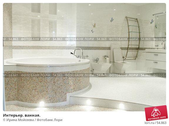 Интерьер. ванная., фото № 54863, снято 19 июня 2006 г. (c) Ирина Мойсеева / Фотобанк Лори