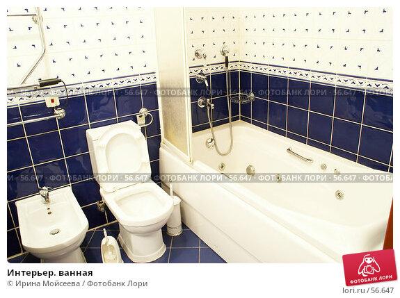Интерьер. ванная, фото № 56647, снято 2 ноября 2006 г. (c) Ирина Мойсеева / Фотобанк Лори