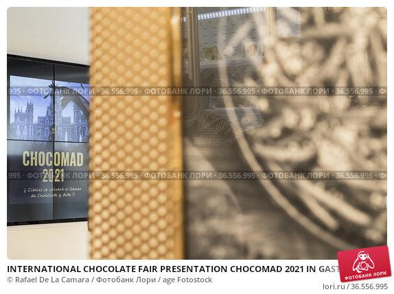 INTERNATIONAL CHOCOLATE FAIR PRESENTATION CHOCOMAD 2021 IN GASTRONOMIC... Редакционное фото, фотограф Rafael De La Camara / age Fotostock / Фотобанк Лори