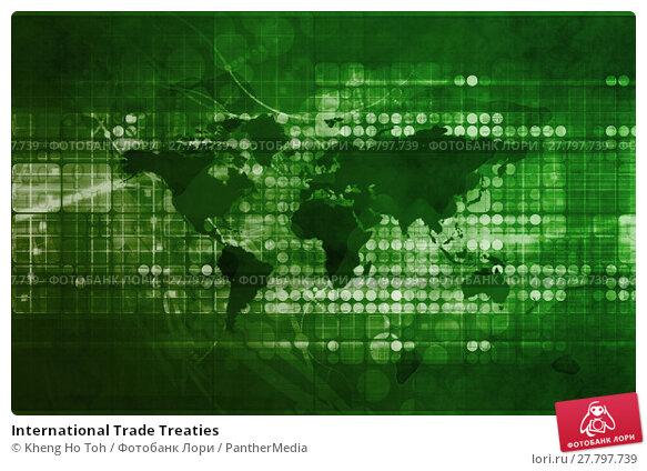 Купить «International Trade Treaties», фото № 27797739, снято 14 декабря 2018 г. (c) PantherMedia / Фотобанк Лори