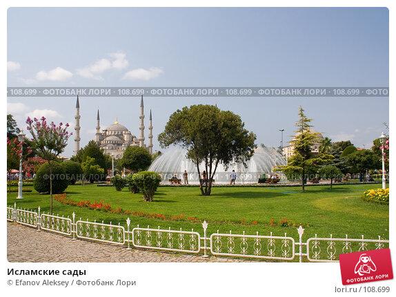Купить «Исламские сады», фото № 108699, снято 27 июля 2007 г. (c) Efanov Aleksey / Фотобанк Лори